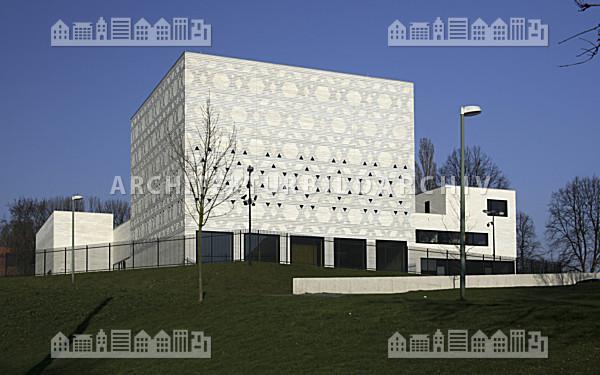 neue synagoge bochum architektur bildarchiv. Black Bedroom Furniture Sets. Home Design Ideas
