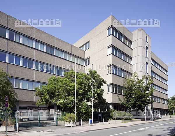 paul ehrlich schule frankfurt am main architektur bildarchiv. Black Bedroom Furniture Sets. Home Design Ideas