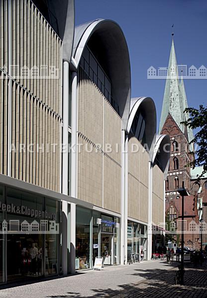 Architektur Lübeck peek cloppenburg weltstadthaus lübeck architektur bildarchiv