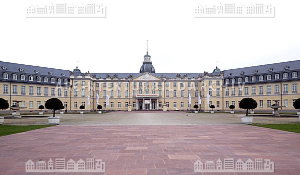Residenzschloss karlsruhe architektur bildarchiv - Architektur karlsruhe ...