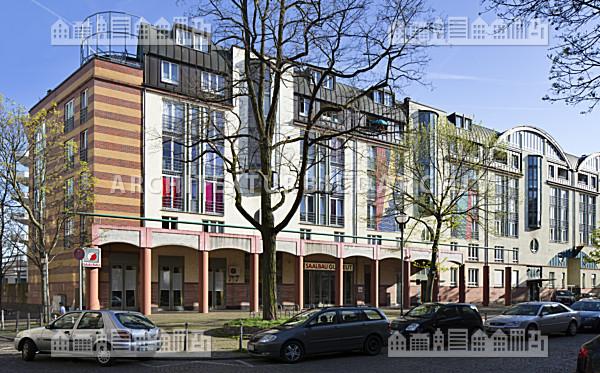 saalbau gutleut frankfurt am main architektur bildarchiv. Black Bedroom Furniture Sets. Home Design Ideas