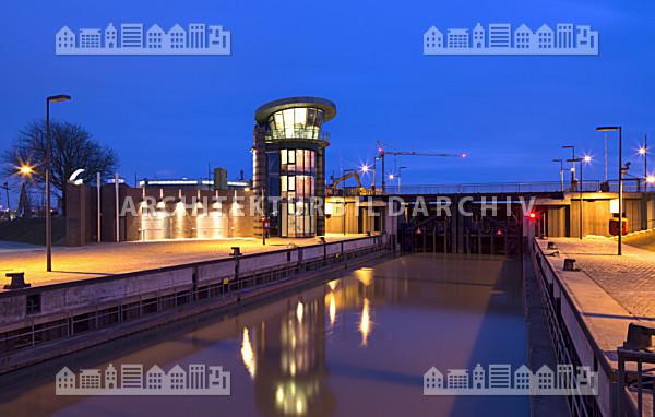 Schleuse neuer hafen bremerhaven architektur bildarchiv - Architektur bremerhaven ...