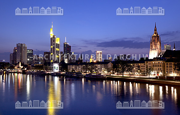 skyline frankfurt am main architektur bildarchiv. Black Bedroom Furniture Sets. Home Design Ideas