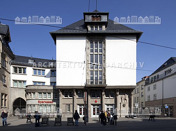 Sparkasse am fischmarkt erfurt architektur bildarchiv for Am fischmarkt