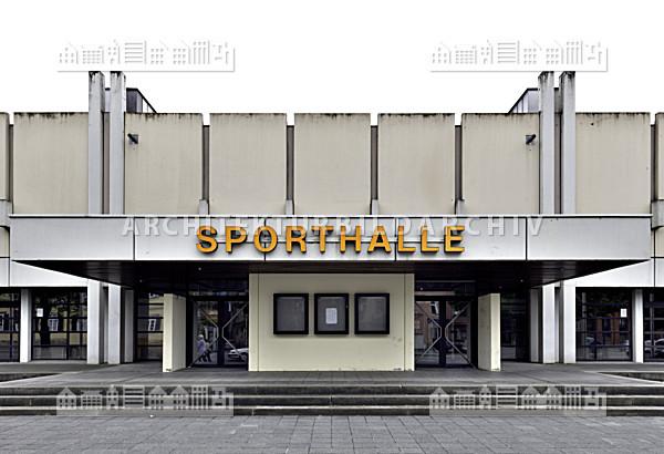 sporthalle am ketschenanger coburg architektur bildarchiv. Black Bedroom Furniture Sets. Home Design Ideas