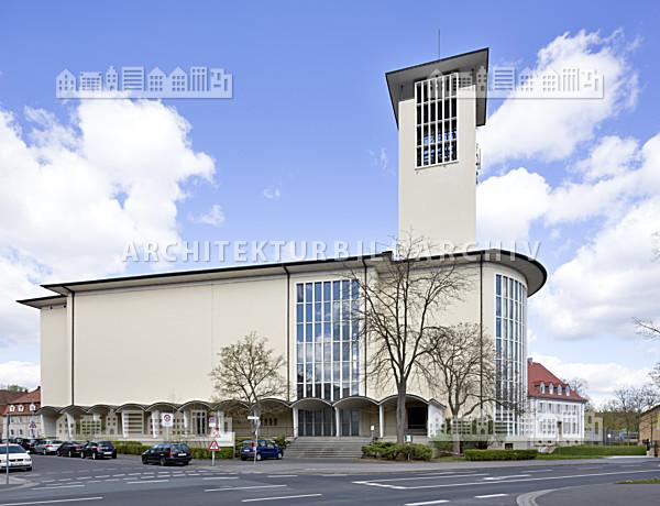 st kilian kirche schweinfurt architektur bildarchiv. Black Bedroom Furniture Sets. Home Design Ideas