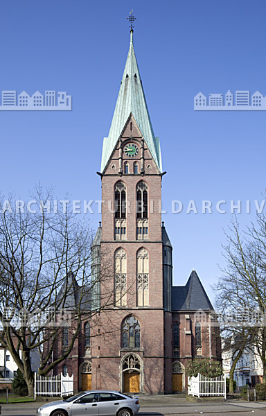 st laurentius kirche herne architektur bildarchiv. Black Bedroom Furniture Sets. Home Design Ideas