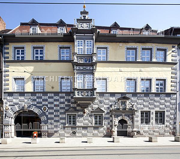 stadtmuseum erfurt haus zum stockfisch architektur. Black Bedroom Furniture Sets. Home Design Ideas