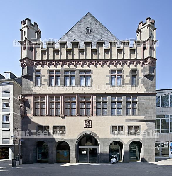 steinernes haus frankfurt am main architektur bildarchiv. Black Bedroom Furniture Sets. Home Design Ideas