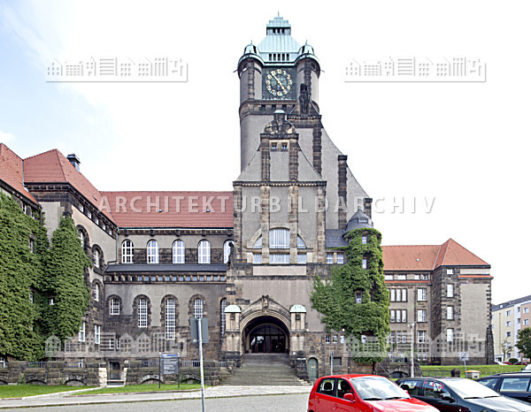 Technische universit t dresden georg schumann bau - Uni dresden architektur ...
