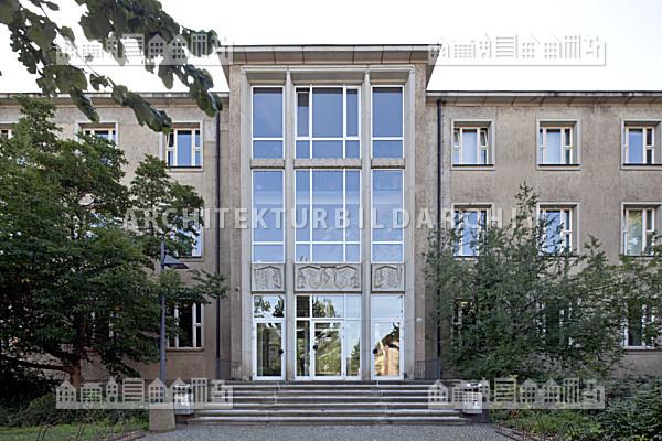 Technische universit t dresden merkel bau architektur - Uni dresden architektur ...