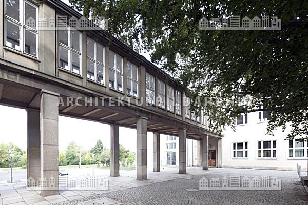 Technische universit t dresden willers bau architektur - Uni dresden architektur ...