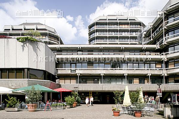 technisches rathaus frankfurt am main architektur bildarchiv. Black Bedroom Furniture Sets. Home Design Ideas