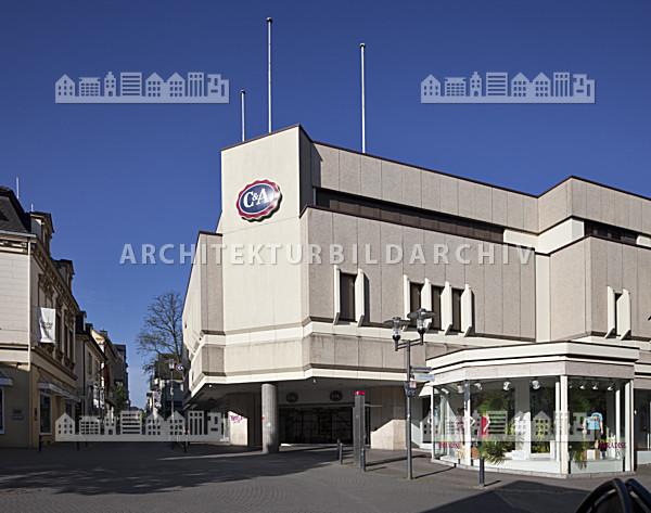 Architekten Recklinghausen textilkaufhaus c a recklinghausen architektur bildarchiv