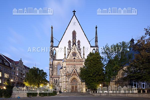 thomaskirche leipzig architektur bildarchiv. Black Bedroom Furniture Sets. Home Design Ideas