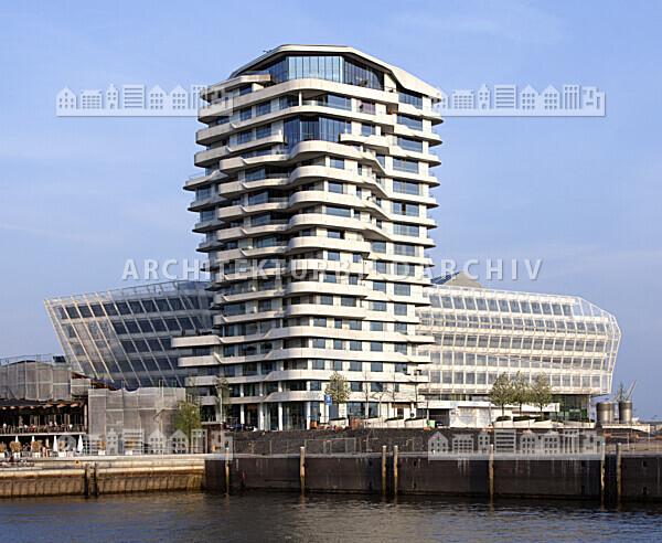 Unileverhaus und Marco-Polo-Tower Hamburg - Architektur-Bildarchiv