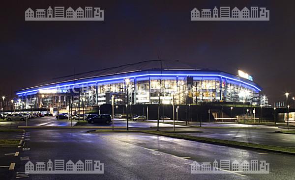Veltins arena arena auf schalke gelsenkirchen architektur bildarchiv - Architekt gelsenkirchen ...