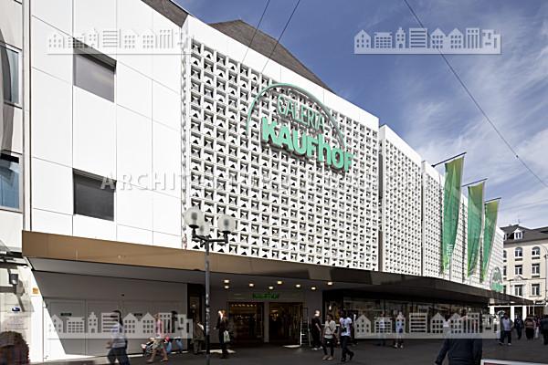 Warenhaus galeria kaufhof horten trier architektur bildarchiv - Architekt trier ...