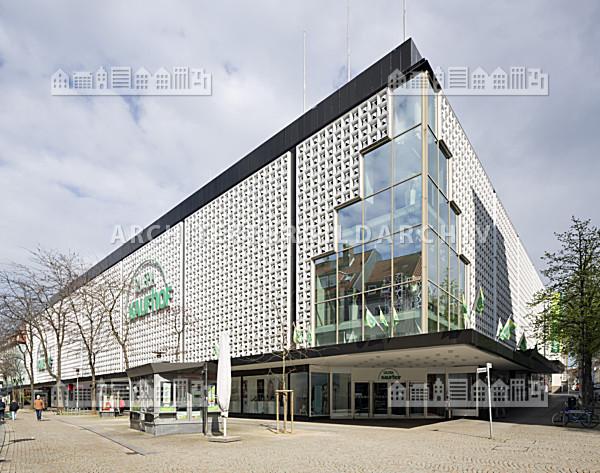 warenhaus galeria kaufhof hildesheim architektur bildarchiv. Black Bedroom Furniture Sets. Home Design Ideas