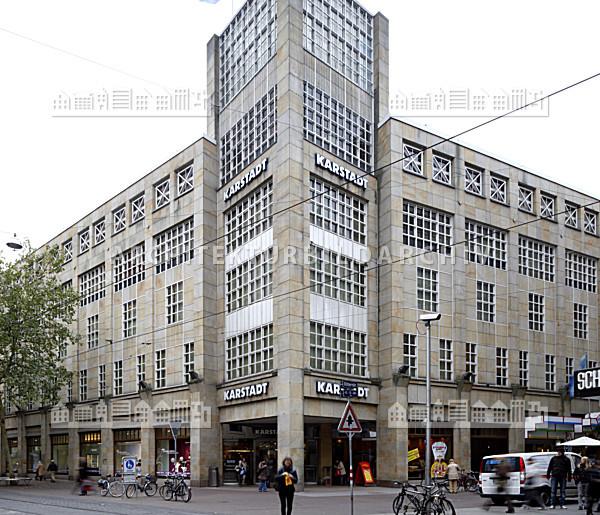 Warenhaus Geschwister Knopf Karstadt Karlsruhe