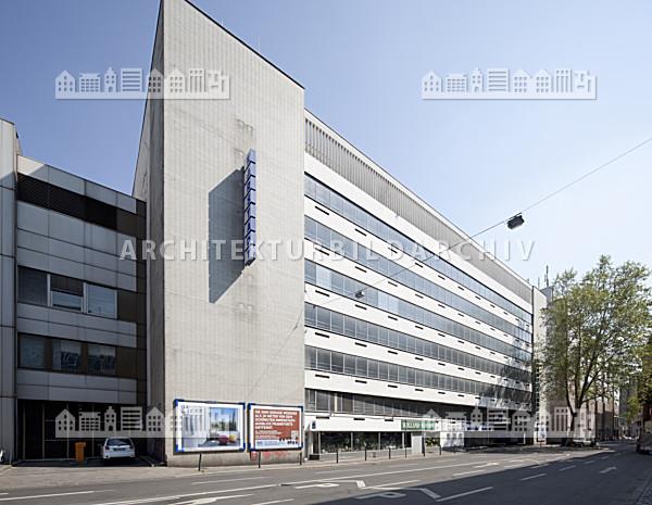 Frankfurt Karstadt Parkhaus
