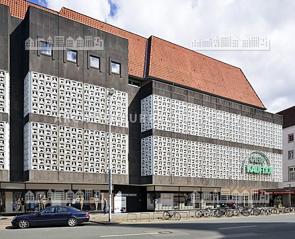 da4be95e1e6aa7 Warenhaus Kaufhof (An der Marktkirche) Hannover - Architektur-Bildarchiv