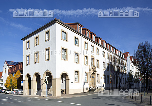 westphalenhof paderborn architektur bildarchiv. Black Bedroom Furniture Sets. Home Design Ideas