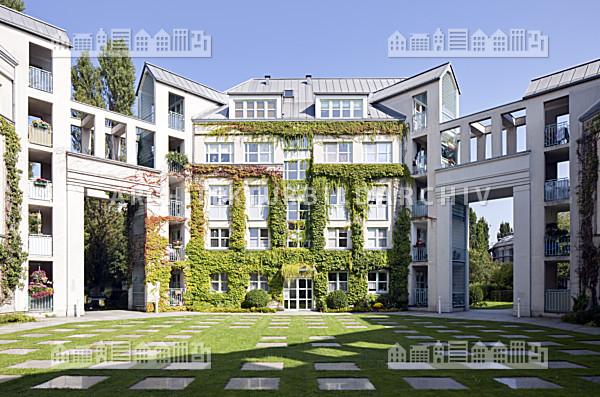 wohnanlage am tegeler hafen berlin architektur bildarchiv