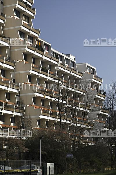 Architektur Dortmund wohnanlage hannibal ii dortmund architektur bildarchiv