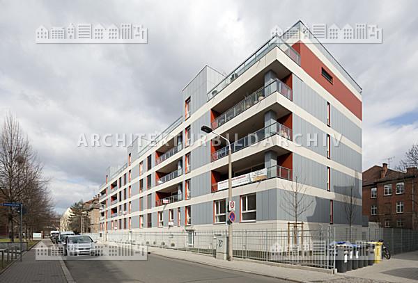 Architektur Erfurt wohngebäude melanchthonstraße 8 10 wohnument erfurt architektur